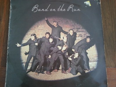 Band On The Run 33 rpm